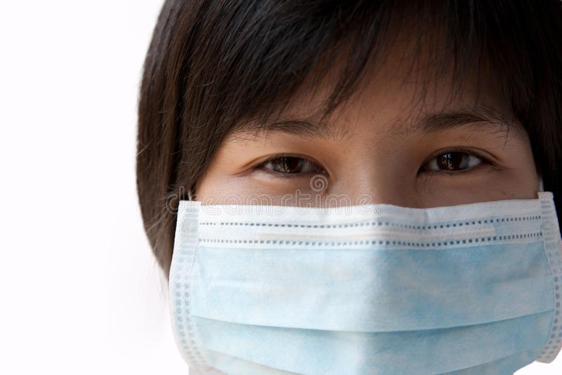Maskera patient&en x27; s-mun arkivfoton