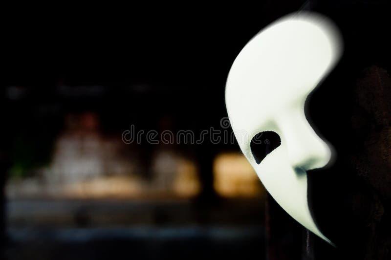Maskerad - fantom av operamaskeringen arkivfoton