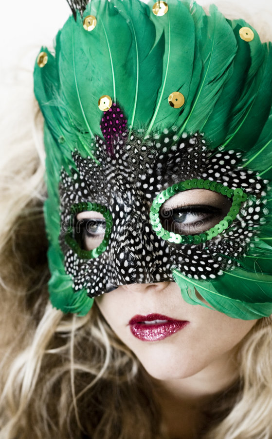 Maskerade stock afbeelding
