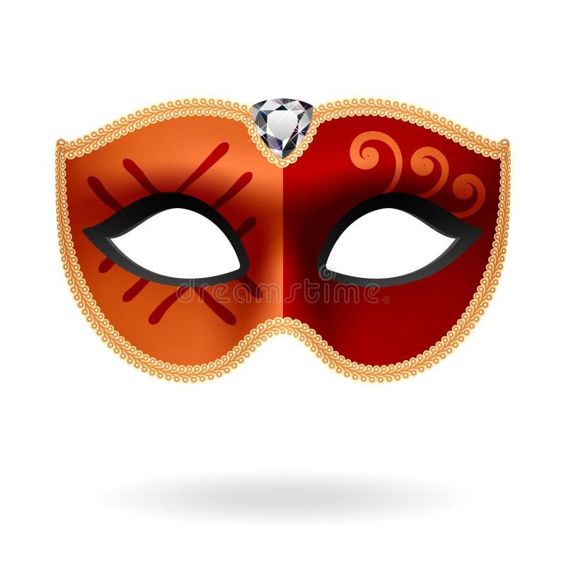 Maskerade-Schablone. Vektor. vektor abbildung