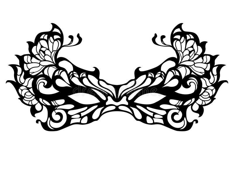Maskerademasker vector illustratie