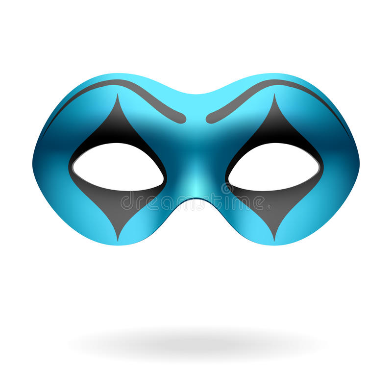 Maskeradeschablone vektor abbildung