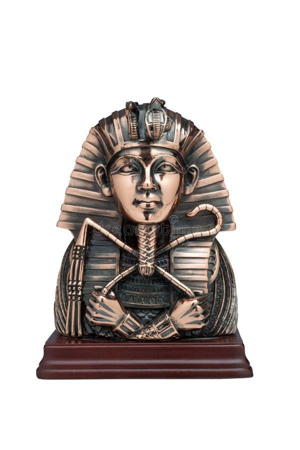 Maskering av farao arkivfoton