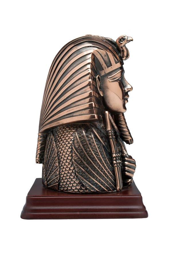 Maskering av farao royaltyfri fotografi