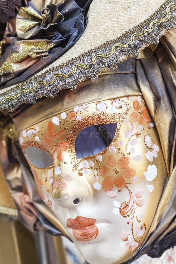 Maskering Carnevale di Venezia, karneval av Venedig royaltyfria foton