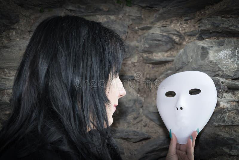 Maskeringsbild arkivbild