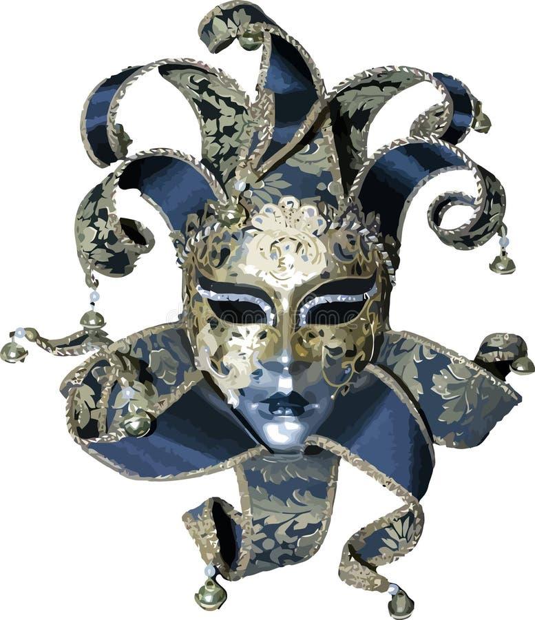 maskeringsvektor royaltyfri illustrationer
