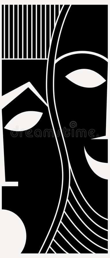 maski ilustracja wektor