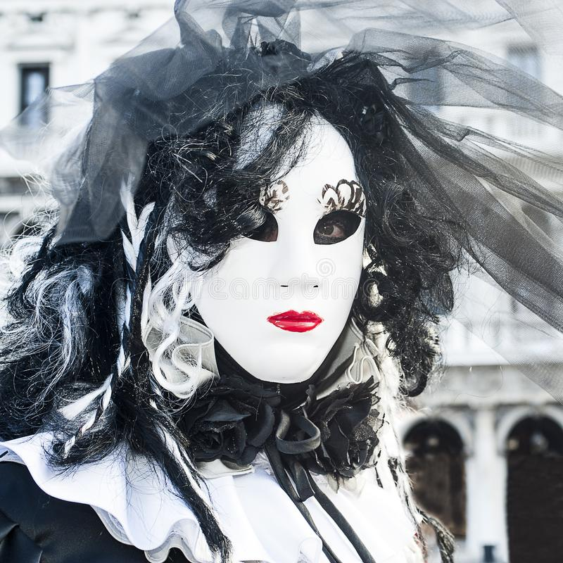 Maski karnawał 2018 Wenecja Włochy, Luty - 5 2018 - zdjęcie royalty free