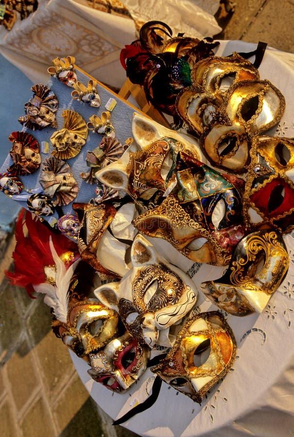 maski karnawałowe Włochy obrazy stock