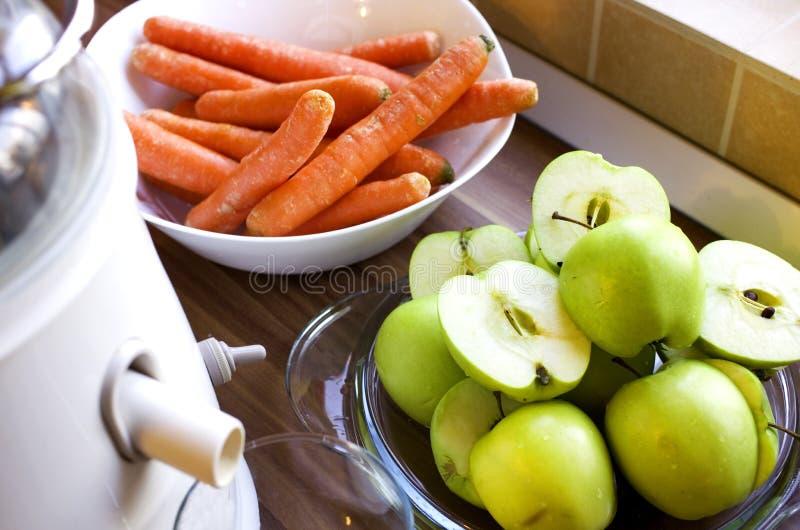 Maskin för fruktfruktsaft royaltyfria bilder