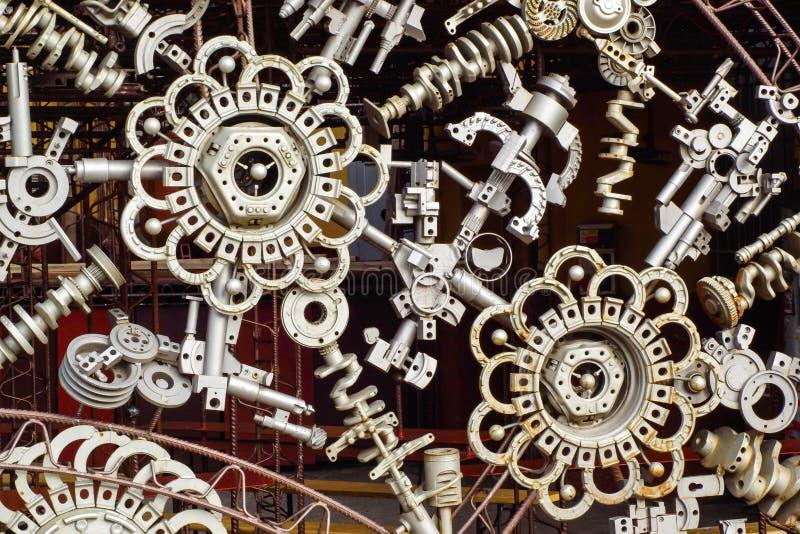 Maskinen särar bakgrund royaltyfri bild