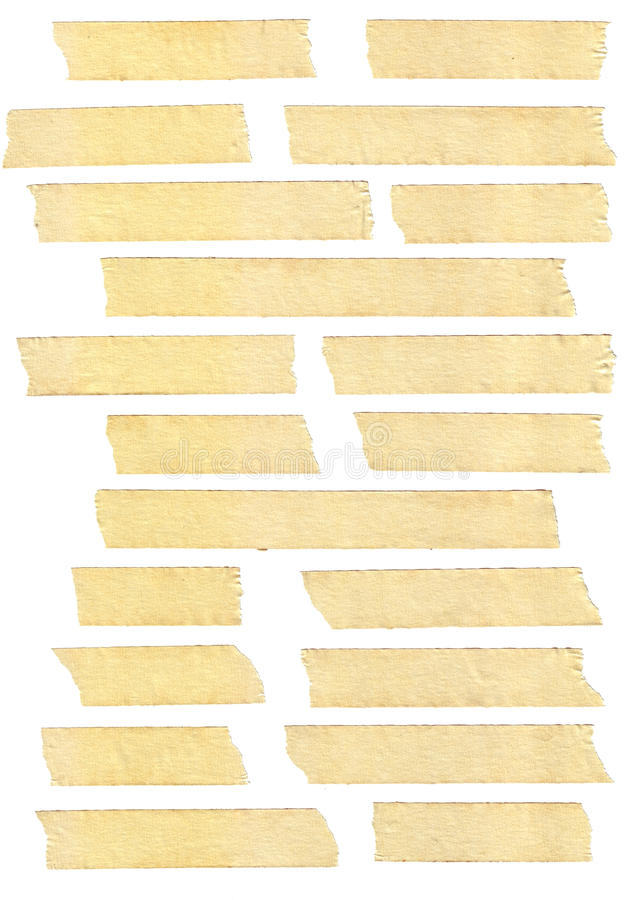 Masking tape textures stock photo. Image of masking ...