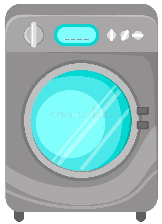 maskintvätt stock illustrationer