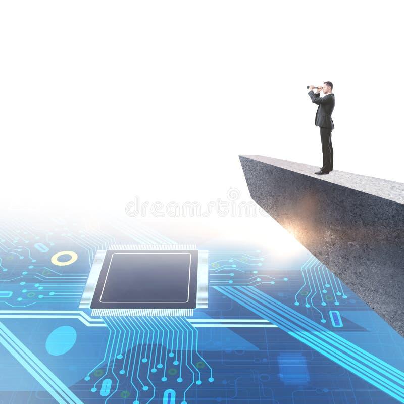Maskinvara och teknikbegrepp royaltyfri fotografi