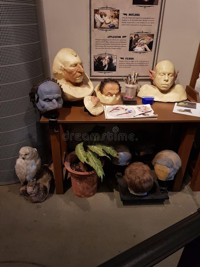 Maskmaking stockbild