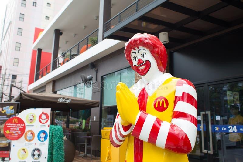 Download Maskotka McDonald Restauracja Obraz Editorial - Obraz złożonej z lunch, mall: 53783960