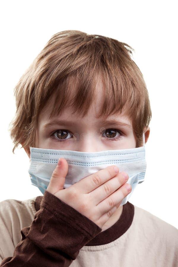 maskowa dziecko medycyna obrazy royalty free