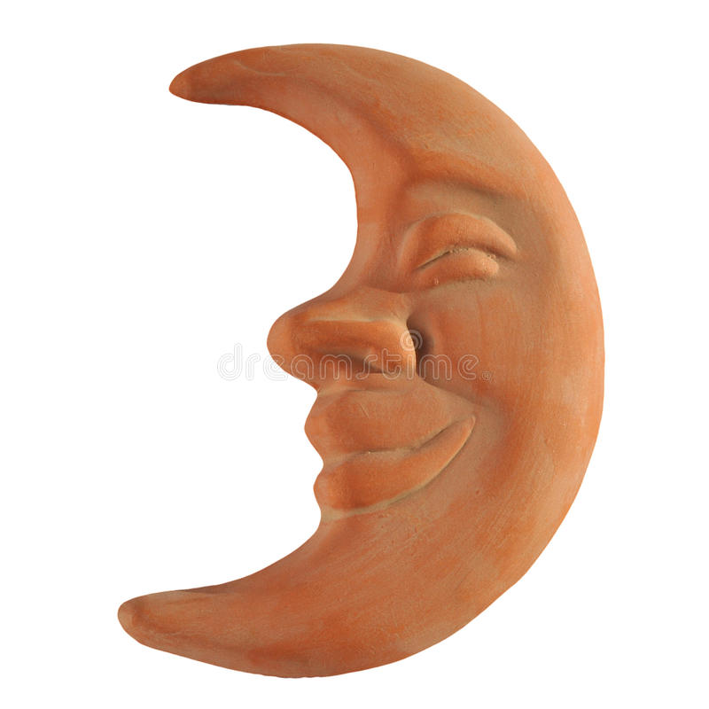 maskowa księżyc fotografia stock