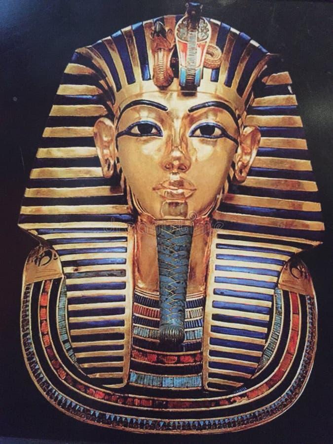 maskowi tutankhamen obrazy stock