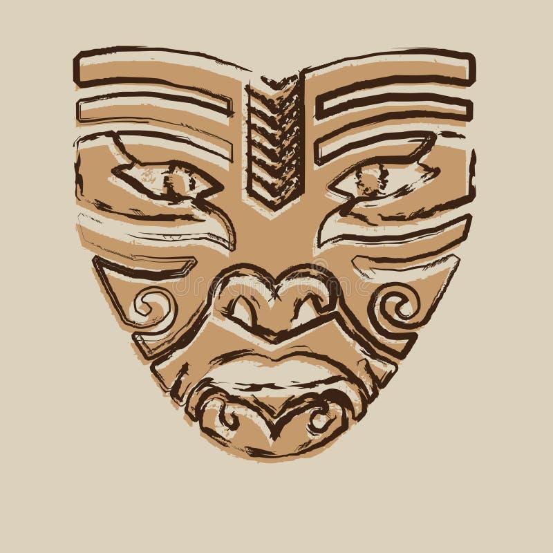 maskowy plemienny obraz stock