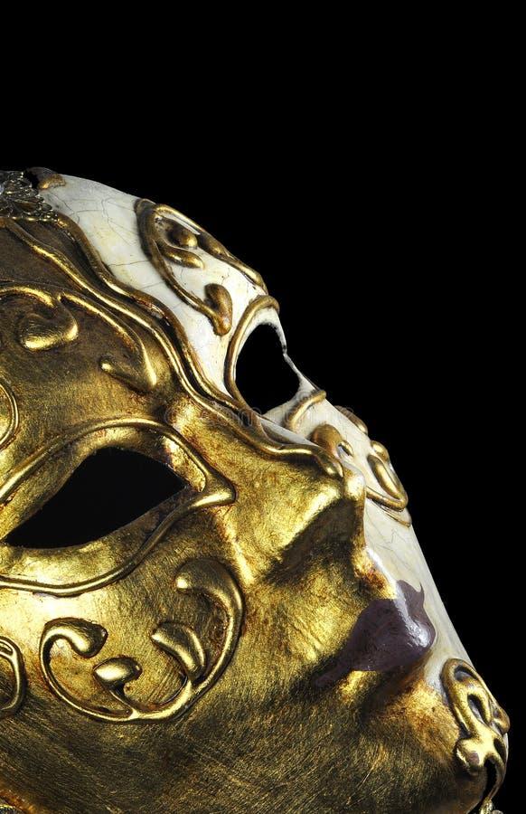 maskowy profilowy venitian fotografia royalty free