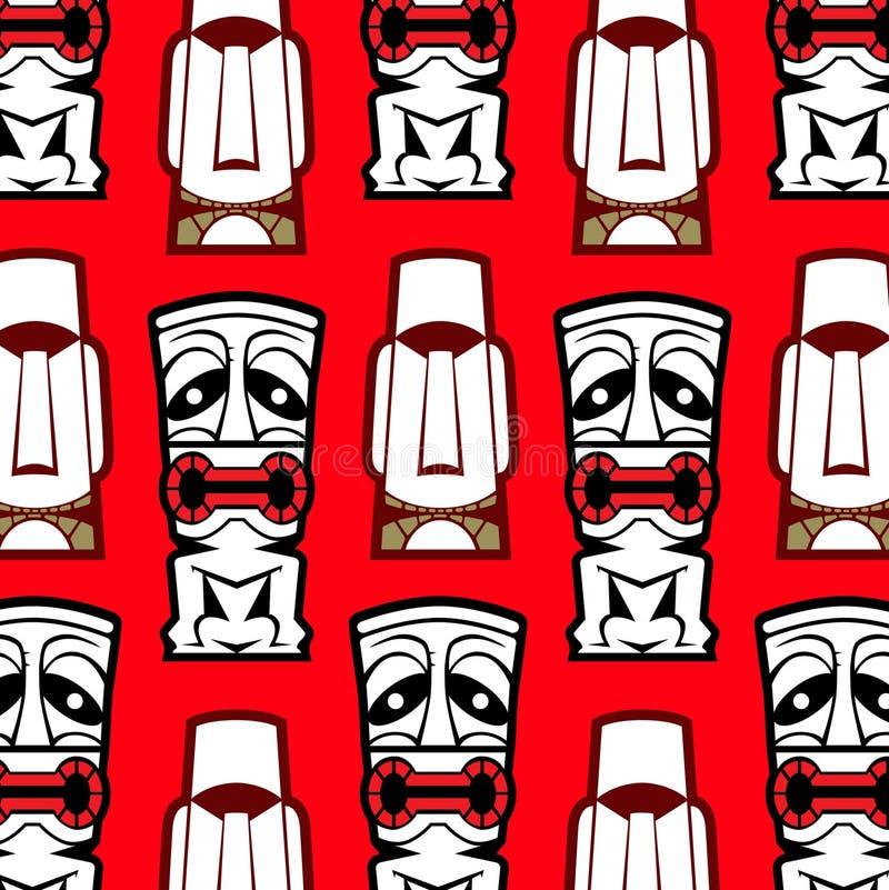 maskowy tło wzór royalty ilustracja