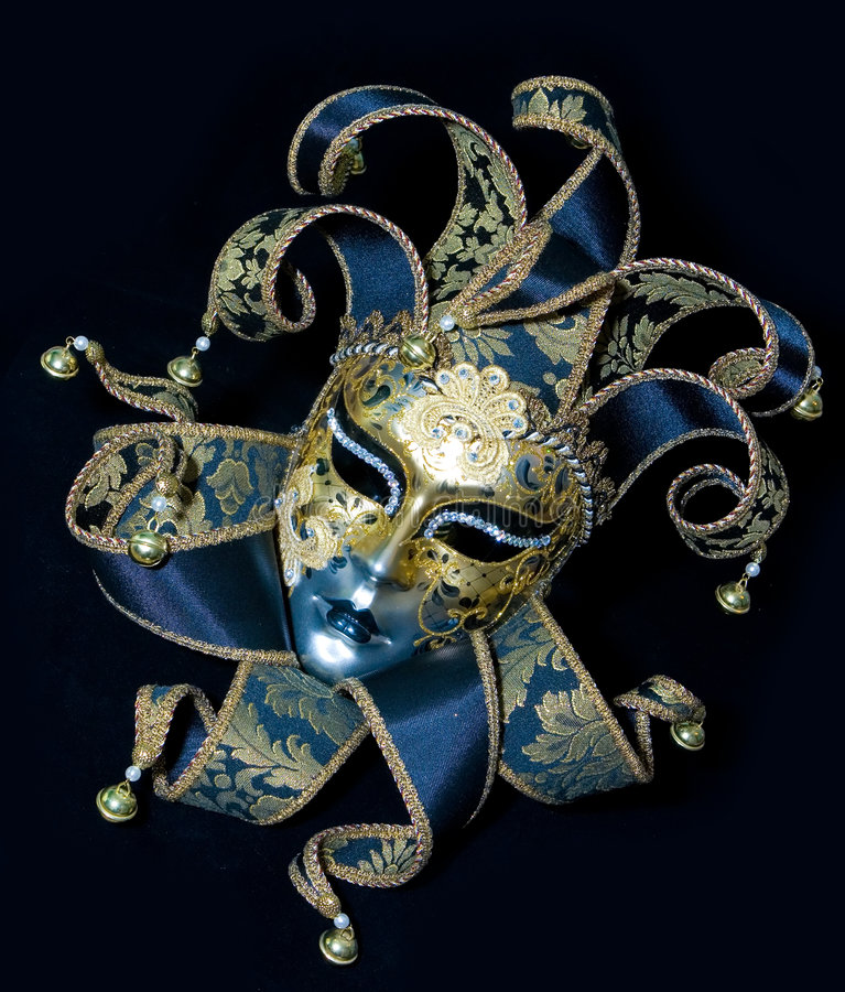 maskowy venetian obraz stock