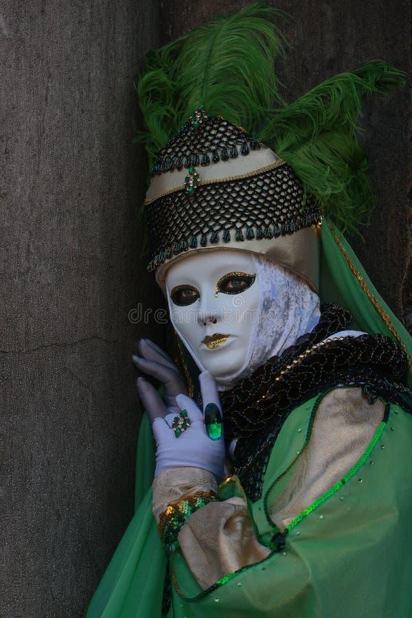 4 maskowy Venice fotografia royalty free