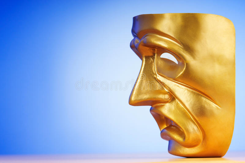 Download Masks - The Theatre Concept Stock Image - Image: 19874569
