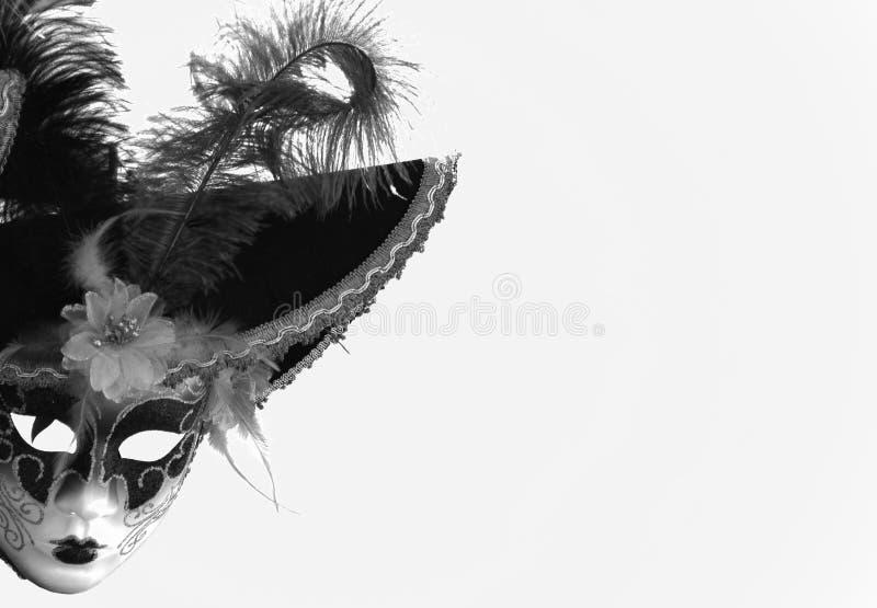 Maskuje który czeka swój twarz obrazy stock