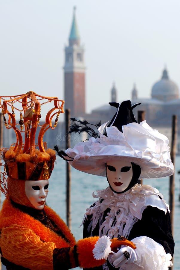 maskuje Wenecji zdjęcia stock