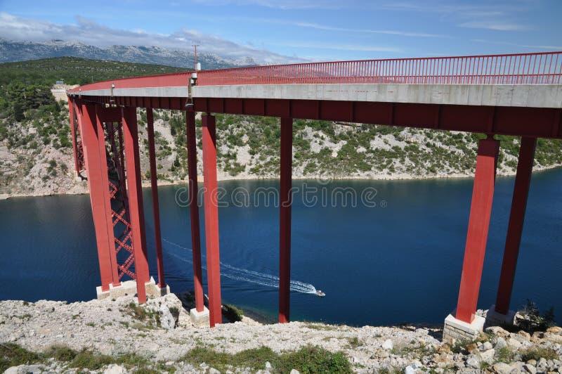 Maslenica Most zdjęcie stock