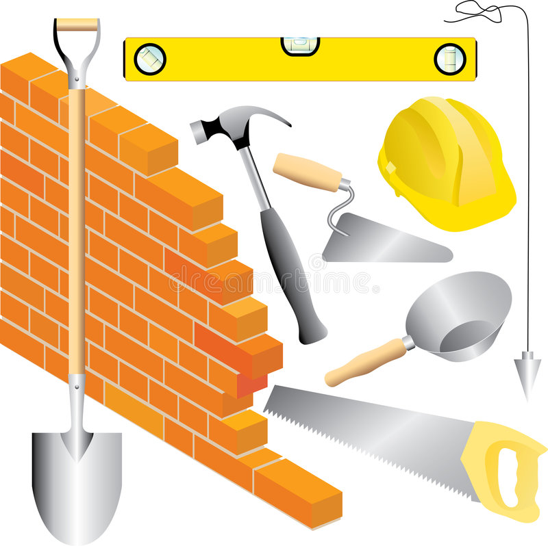 Download Mason const stock vector. Illustration of construction - 7720191