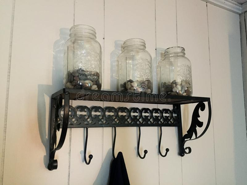 Mason Jar royalty-vrije stock afbeelding