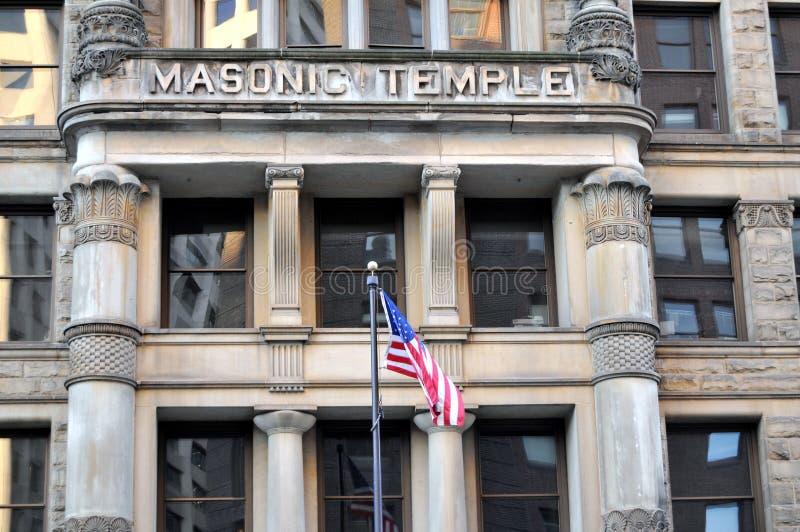 Masonic Temple Royalty Free Stock Images