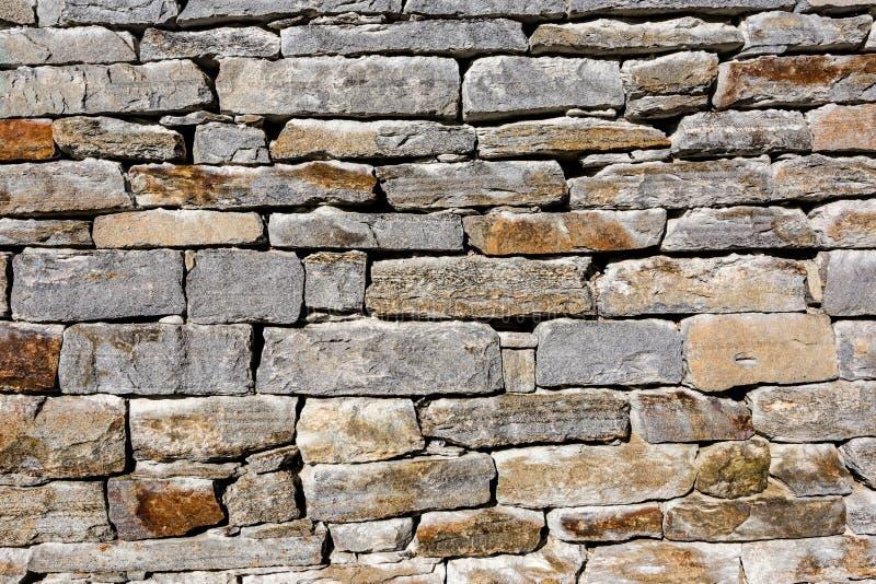 Masonry гранита, грубая серая каменная стена, предпосылка текстуры стоковые изображения