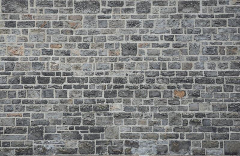 Masonry pattern. Traditional grey masonry stone pattern stock image