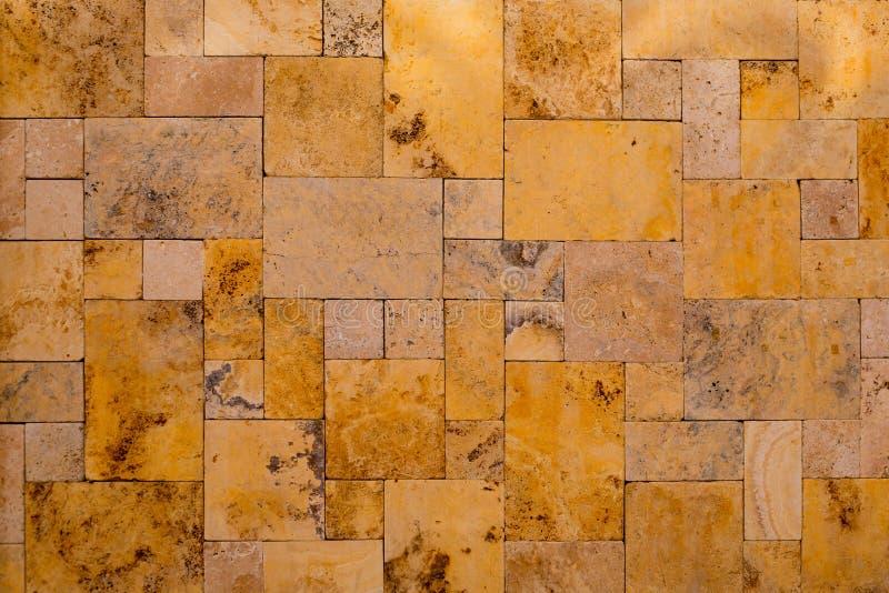 Masonry stonewall камень шифера состава золотой стоковое изображение rf