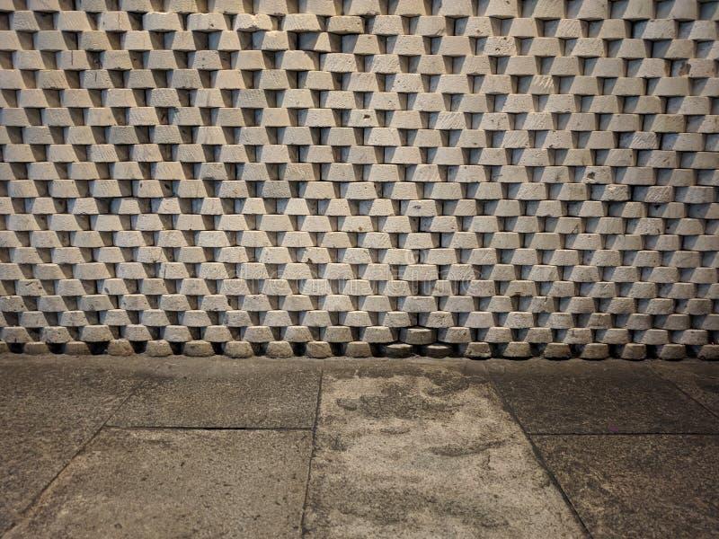 Masonry triangle pattern texture background royalty free stock photos