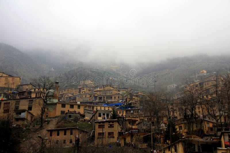 Masoule, Gilan, Iran stock photo