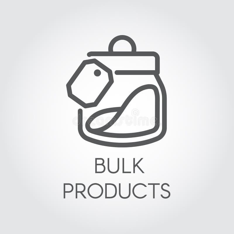 Masowa produkt ikona Cookery pojęcie Prosty loga lub guzika rysunek w kreskowym stylu również zwrócić corel ilustracji wektora ilustracji