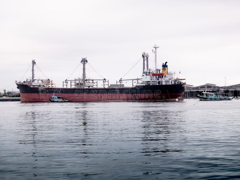 Masowego ładunku statek fotografia royalty free