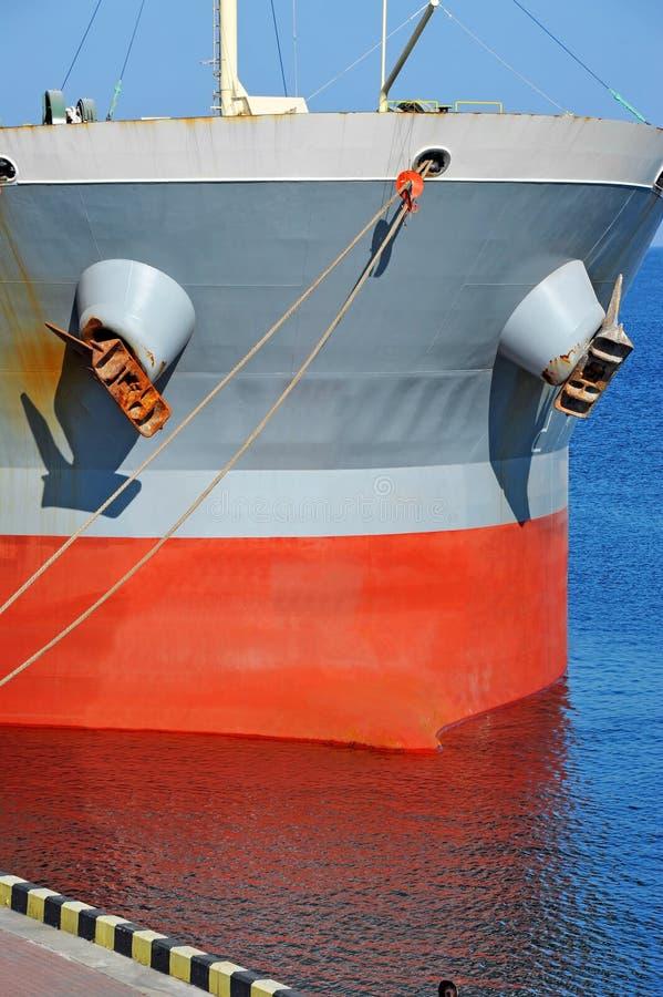 Masowego przewoźnika statek zdjęcia stock