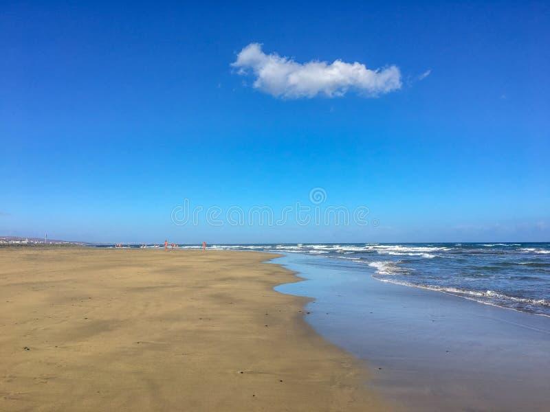 Maspalomas beach - Gran Canaria stock photography