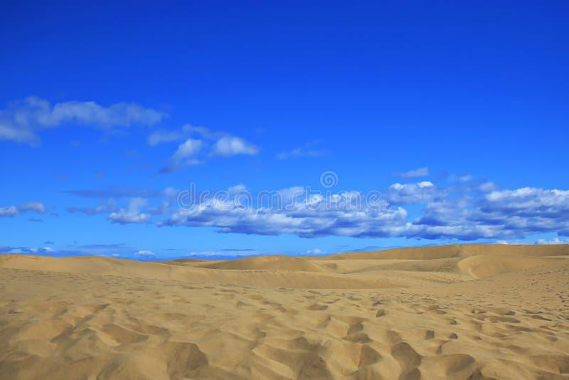 Maspalomas le dune di sabbia fotografie stock