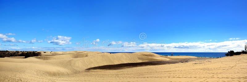 Maspalomas le dune di sabbia immagini stock libere da diritti