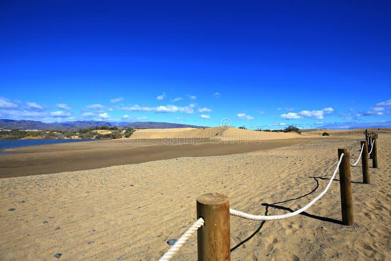 Maspalomas le dune di sabbia immagine stock libera da diritti