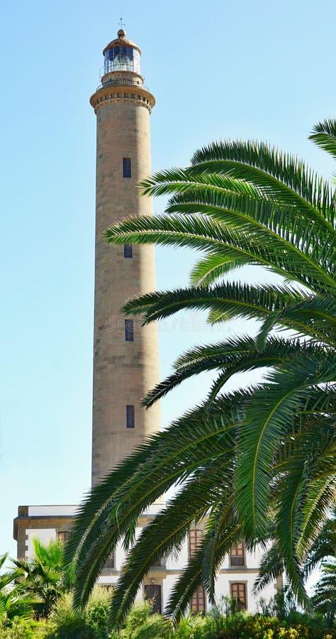 Download Maspalomas lighthouse stock photo. Image of spain, light - 34314672