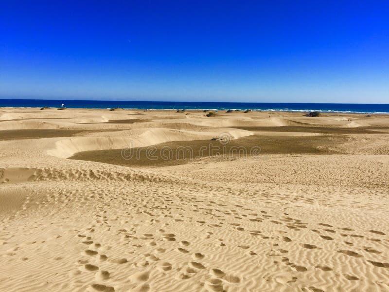 Maspalomas plaża obrazy royalty free